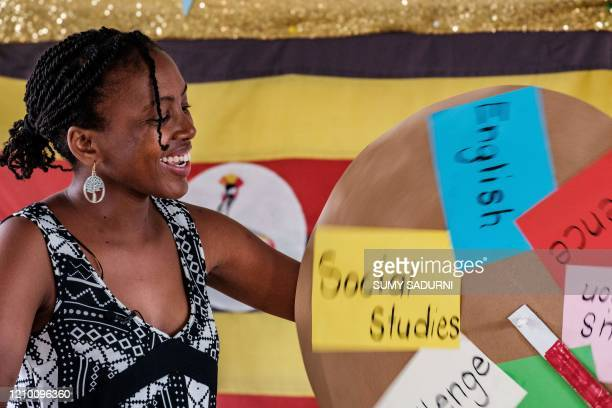 Irene Nyangoma, a teacher at the Clarke Junior School and is the hostess of a new TV show which is aimed for children to learn at home with their...