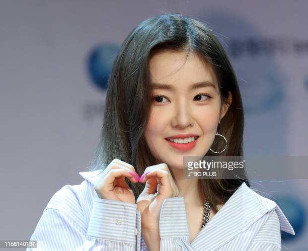 """Irene of Red Velvet attends the """"Cooper Vision"""" Fan Signing Event at Ilji Art Hall on May 29, 2019 in Seoul, South Korea."""