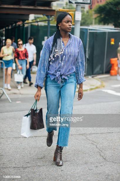 Irene OjoFelix modelscom editor after the Cushnie show during New York Fashion Week Spring/Summer 2019 on September 7 2018 in New York City