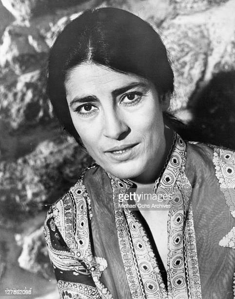 Irene Papas plays the faithful longsuffering wife in a scene from the film 'A Dream of Kings' 1969