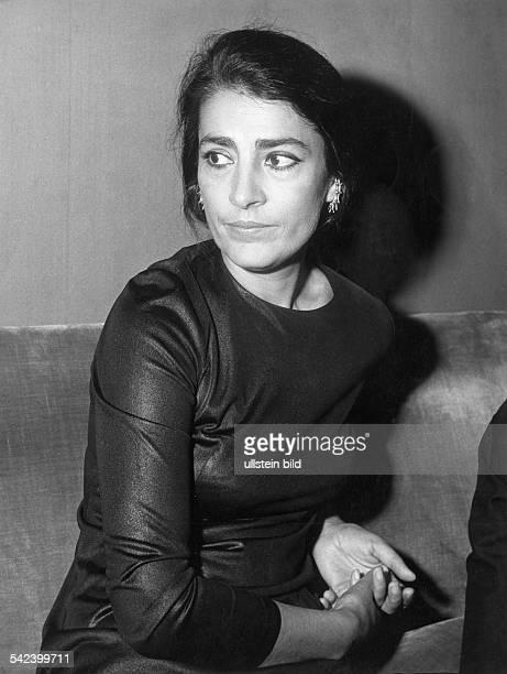 Irene Papas*Schauspielerin GriechenlandPortrait 1972