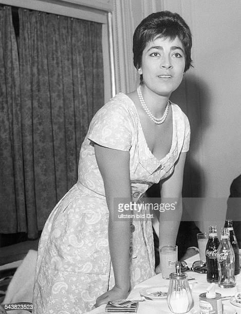 Irene Papas*-Schauspielerin, GriechenlandPortrait- vermutl. 1960