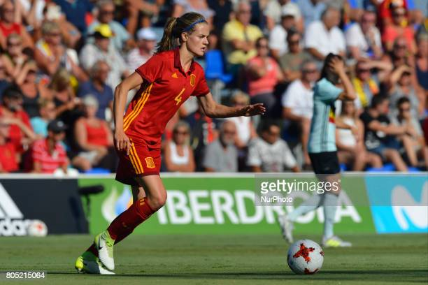 Irene Paredes during a friendly match between the national women's teams of Spain vs Belgium in Pinatar Arena Murcia Spain Friday June 30 2017