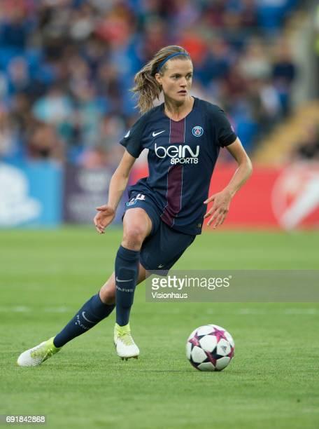 Irene Paredes of Paris Saint Germain during the UEFA Women's Champions League Final between Olympique Lyonnais and Paris Saint Germain on June 1 2017...