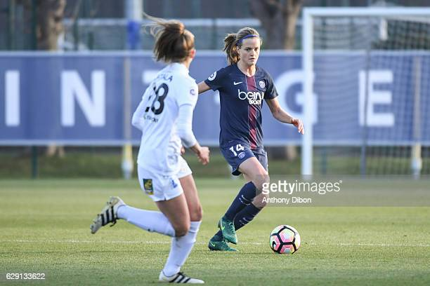 Irene Paredes of PSG during the French Division 1 match between Paris Saint Germain and Juvisy at Camp des Loges on December 10 2016 in Paris France