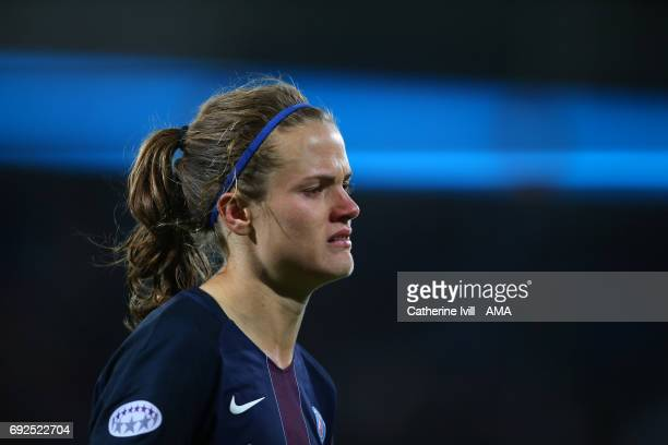 Irene Paredes of PSG during the UEFA Women's Champions League Final match between Lyon and Paris Saint Germain at Cardiff City Stadium on June 1 2017...