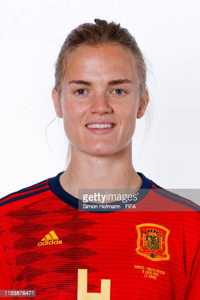 Irene Paredes of Spain of Spain poses for a portrait during the official FIFA Women's World Cup 2019 portrait session at Hotel Barriere Le Normandy...