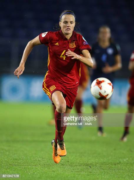 Irene Paredes of Spain Women during the UEFA Women's Euro 2017 match between England and Spain at Rat Verlegh Stadion on July 23 2017 in Breda...