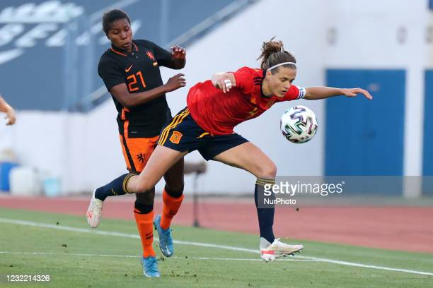 Irene Paredes of Spaincduring the International Friendly Women match between Spain v Netherlands at the Estadio Municipal Antonio Lorenzo Cuevas in...