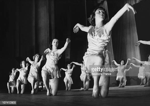 Irene Popard Rhythmic Dance Galas On May 1951