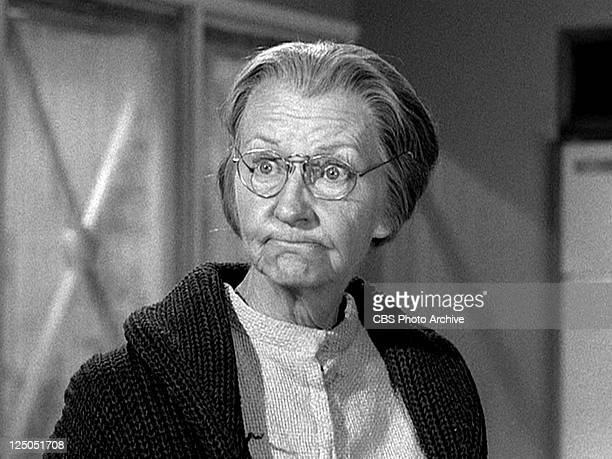 Irene Ryan as Daisy Moses in THE BEVERLY HILLBILLIES episode Granny's Garden Original airdate October 9 1963 Image is a frame grab