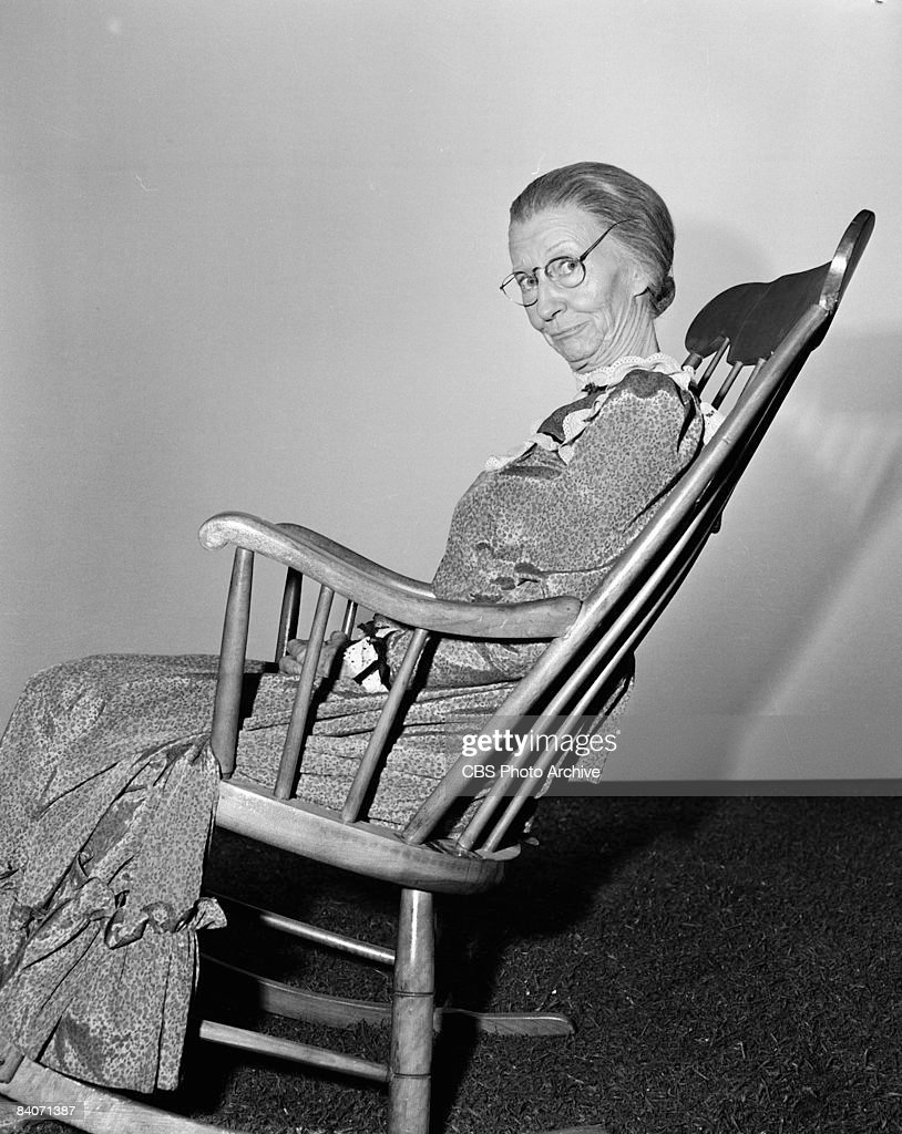 Strange Irene Ryan Sits In A Rocking Chair While Playing The Part Of Pdpeps Interior Chair Design Pdpepsorg