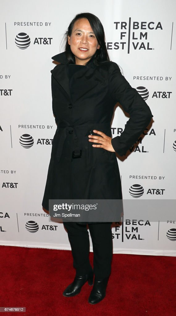 Irene Schum attends the 'Julian Schnabel: A Private Portrait' screening during the 2017 Tribeca Film Festival at SVA Theatre on April 28, 2017 in New York City.
