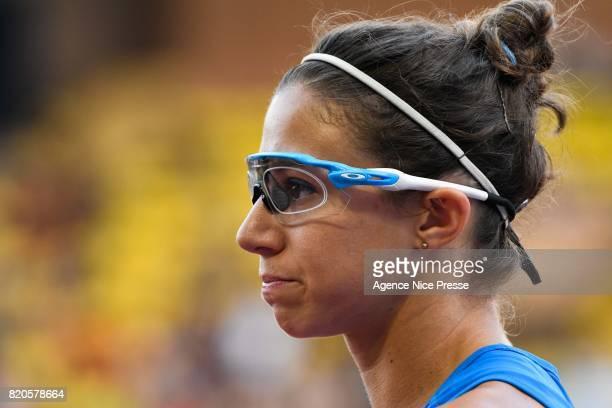 Irene Siragusa of Italy 4x100m relay women during the IAAF Diamond League Meeting Herculis on July 21 2017 in Monaco Monaco