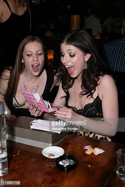 Irene Trachtenberg and Michelle Trachtenberg during Michelle Trachtenberg's 21st Birthday at Tao in Las Vegas at Tao in Las Vegas Nevada United States