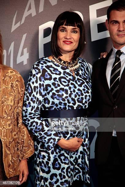 Irene Villa attends the '63th Premio Planeta' Literature Awards at the Palau de Congressos de Catalunya on October 15 2014 in Barcelona Spain