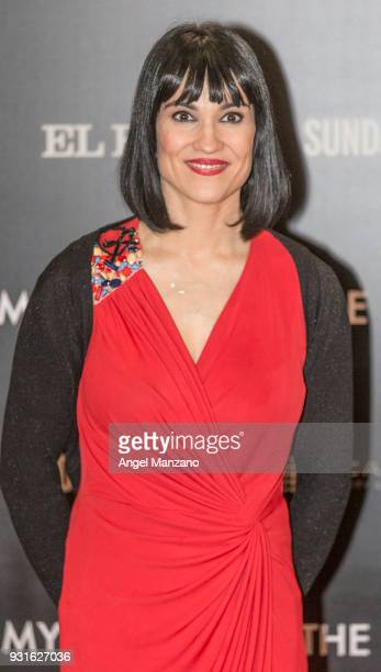 Irene Villa attends 'The Best Day Of My Life' Madrid premiere at Callao cinema on March 13 2018 in Madrid Spain