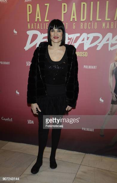 Irene Villa attends the premiere of 'Desatadas' at the Capitol theatre on January 19 2018 in Madrid Spain