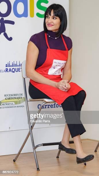 Irene Villa presents the 'Flor dulce de Navidad' campaign at Prodis Foundation on November 30 2017 in Madrid Spain