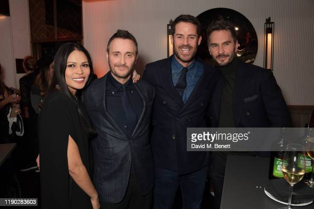 Irha Atherton Jason Atherton Jamie Redknapp and guest attend the launch Party of The Biltmore Mayfair LXR Hotels Resorts and The Betterment by Jason...