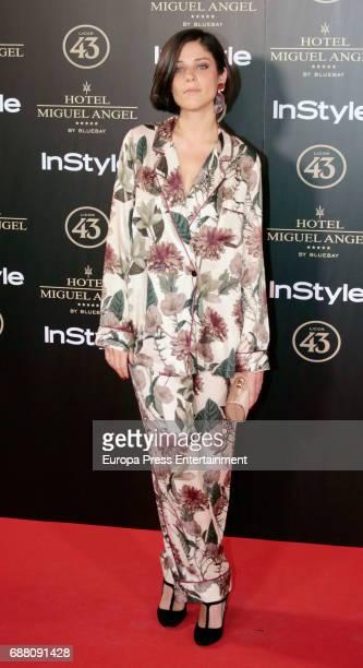 Iria del Rio attends 'El Jardin de Miguel Angel' terrace inauguration on May 24 2017 in Madrid Spain