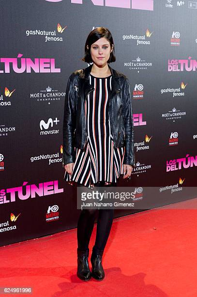 Iria del Rio attends 'Los Del Tunel' premiere during the Madrid Premiere Week at Callao Cinema on November 21 2016 in Madrid Spain