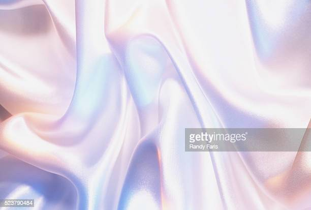 iridescent white satin - white satin stock photos and pictures