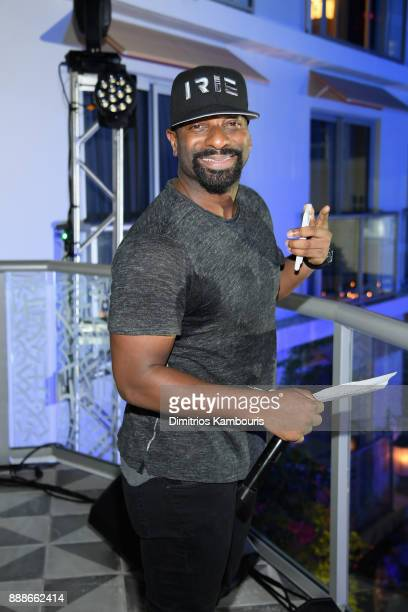 Irie on stage during the Maxim December Miami Issue Party Presented by blu on December 8 2017 in Miami Beach Florida