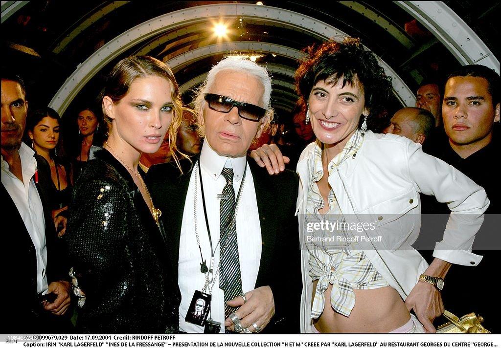 H&M's New Collection Designed By Karl Lagerfeld : Foto di attualità