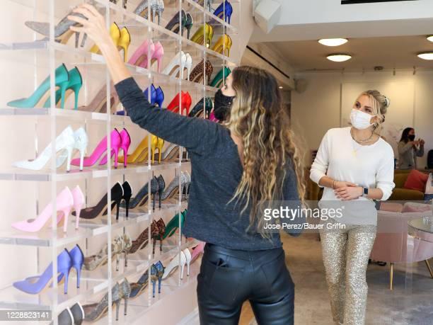 Irina Baeva and Sarah Jessica Parker are seen on September 30, 2020 in New York City.