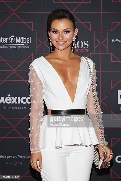 Irina Baeva attends Los Bellos de TvYNovelas 2016 at Bosque de Chapultepec on August 31 2016 in Mexico City Mexico