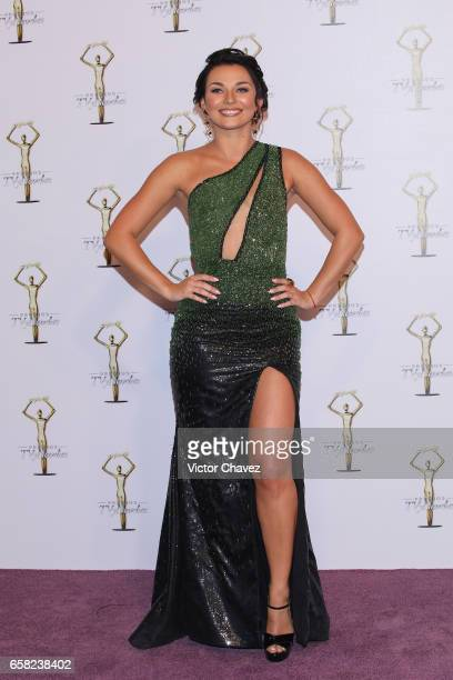 Irina Baeva attends Premios Tv y Novelas 2017 at Televisa San Angel on March 26 2017 in Mexico City Mexico