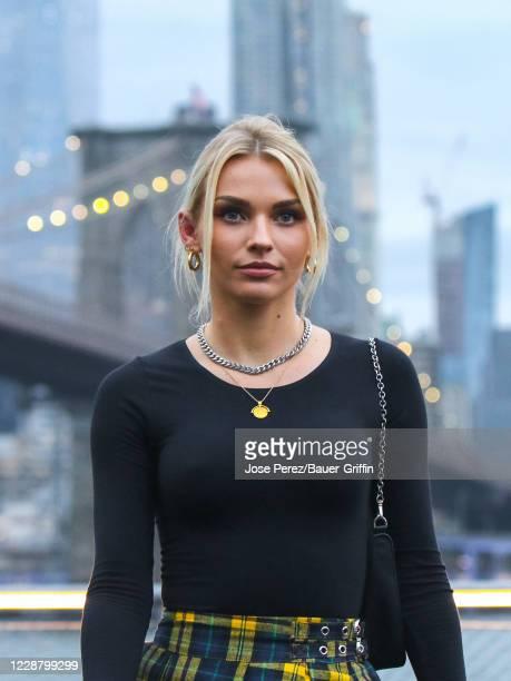 Irina Baeva is seen on September 29, 2020 in New York City.