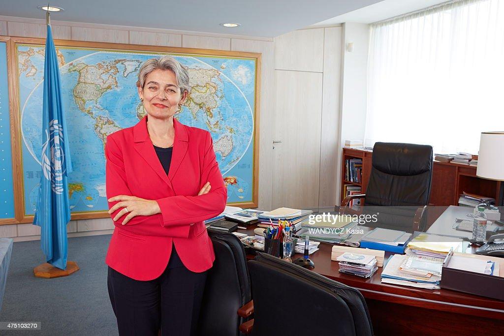 Irina Bokova,General director of the UNESCO Portrait Session