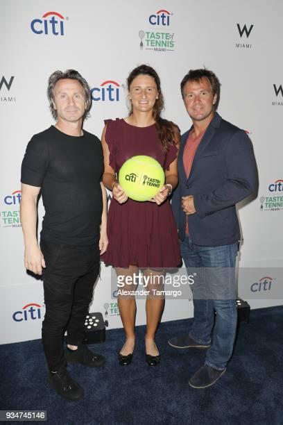 Irina Camelia Begu attends the Citi Taste Of Tennis Miami 2018 at W Miami on March 19 2018 in Miami Florida