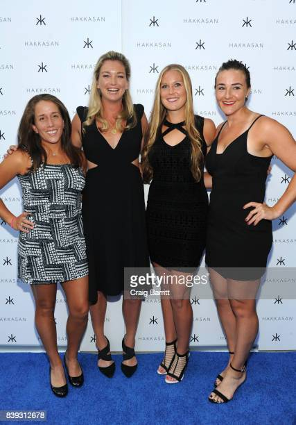 Irina Falconi Coco Vandeweghe Shelby Rogers and Abigail Spears attend Citi Taste Of Tennis with Coco Vandeweghe and friends at Hakkasan Restaurant...