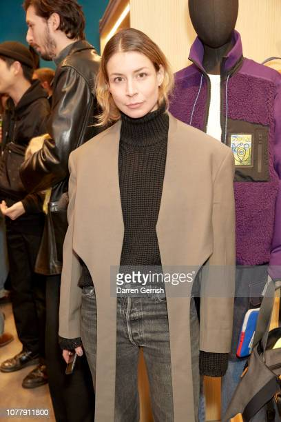 Irina Lakicevic attends the Eye/LOEWE/Nature launch at exclusive popup on Brewer Street on January 5 2019 in London England