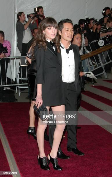 Irina Lazareanu and designer Phillip Lim