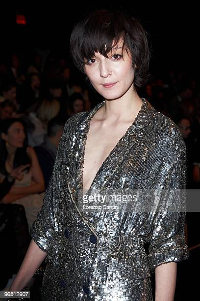 Irina Lazareanu attends 3.1 Phillip Lim during Mercedes-Benz Fashion Week Fall 2010 at Bryant Park on February 17, 2010 in New York City.