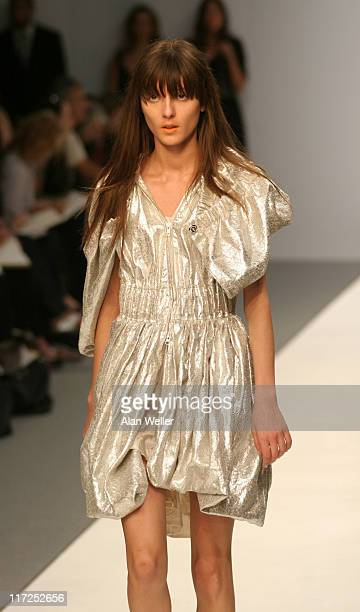 Irina Lazareanu wearing John Rocha Spring/Summer 2007