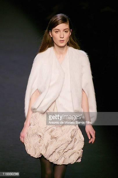 Irina Lazareanu wearing Sophia Kokosalaki Fall/Winter 2007