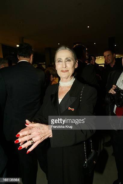 Irina Pabst Beim Konzert Zum 80 Geburtstag Von Vicco_Von_Bülow In Der Deutschen Oper In Berlin Am 201103