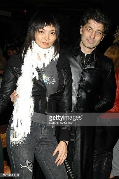 Irina Pantaeva and Roland Levin attend The Heart Truth Red Dress Collection After Party Hosted by Jamie Mulholland at Cain on February 4 2005 in New...