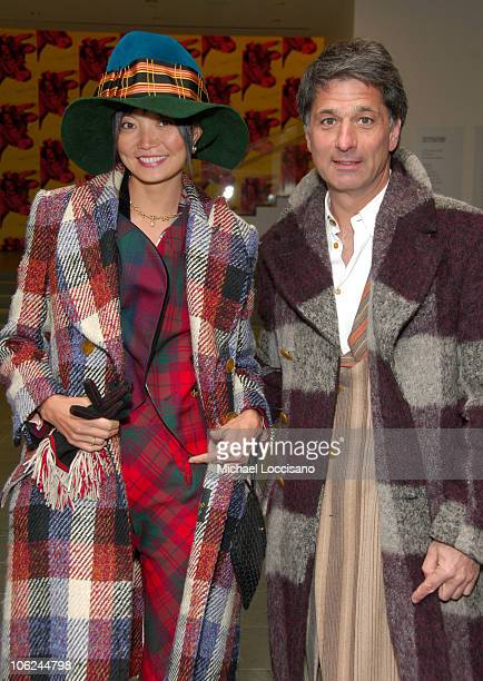 Irina Pantaeva and Roland Levin during Miss Potter Special Private Screening at MoMA Theatre in New York City New York United States
