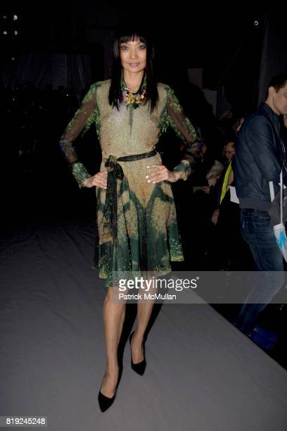 Irina Pantaeva attends NICOLE MILLER Fall 2010 Collection at Bryant Park Tents on February 12 2010 in New York City