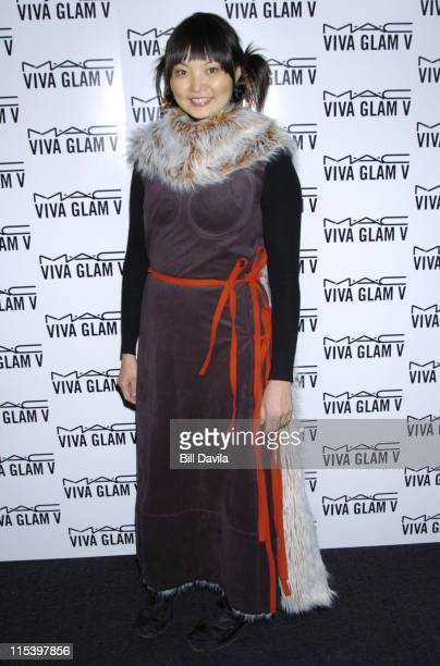 Irina Pantaeva during The MAC Aids Fund Viva Glam V After Party at Ace Gallery 275 Hudson in New York City New York United States