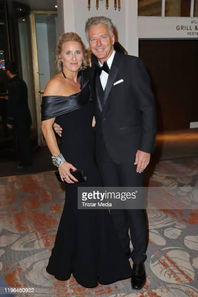Irina Pilawa and her husband Joerg Pilawa during the Presseball Hamburg at Hotel Atlantic on January 25 2020 in Hamburg Germany