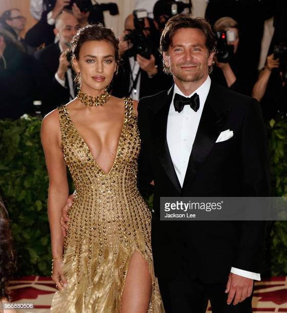 Irina Shayk and Bradley Cooper at Metropolitan Museum of Art on May 7 2018 in New York City