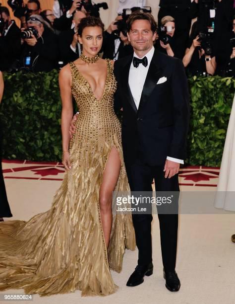 Irina Shayk and Bradley Cooper at Metropolitan Museum of Art on May 7 2018 in New York City