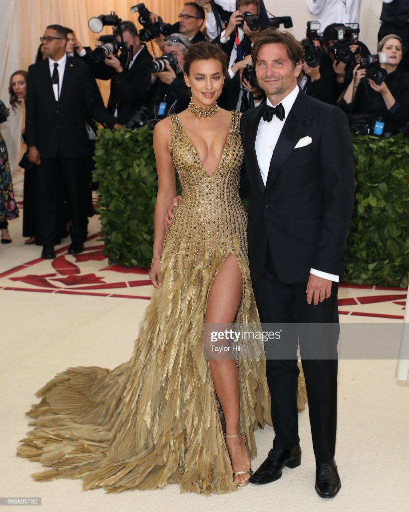 Irina Shayk and Bradley Cooper attend 'Heavenly Bodies: Fashion & The Catholic Imagination', the 2018 Costume Institute Benefit at the Metropolitan Museum of Art on May 7, 2018 in New York City.